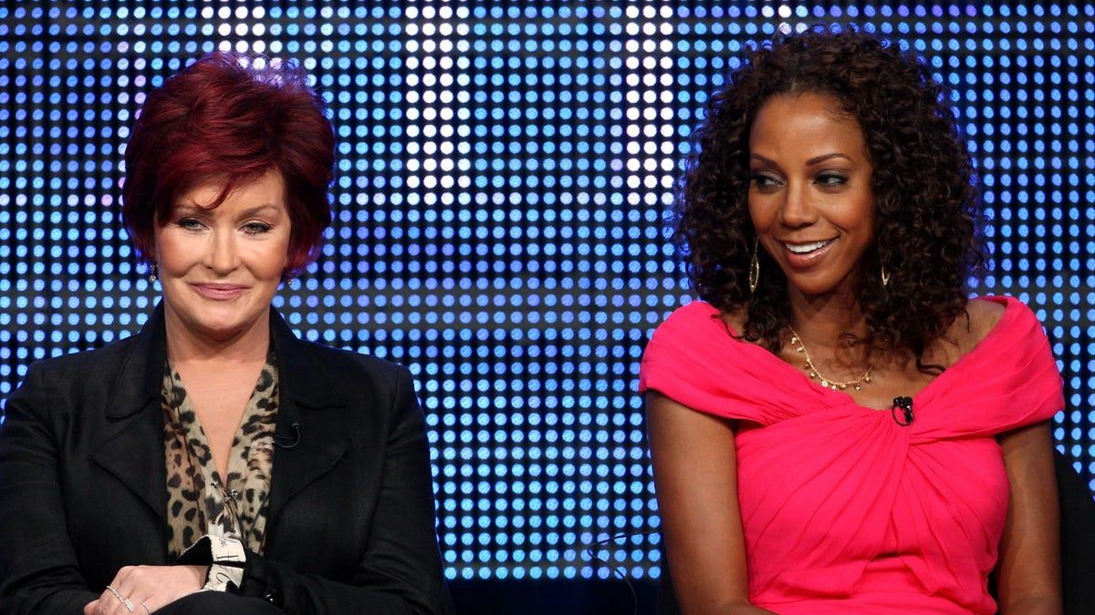 Former The Talk host Holly Robinson Peete says Sharon Osbourne complained she was too
