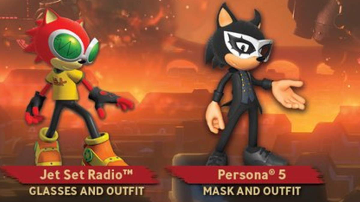 The Internet Reacts To Sonic Forces Persona 5 Costume