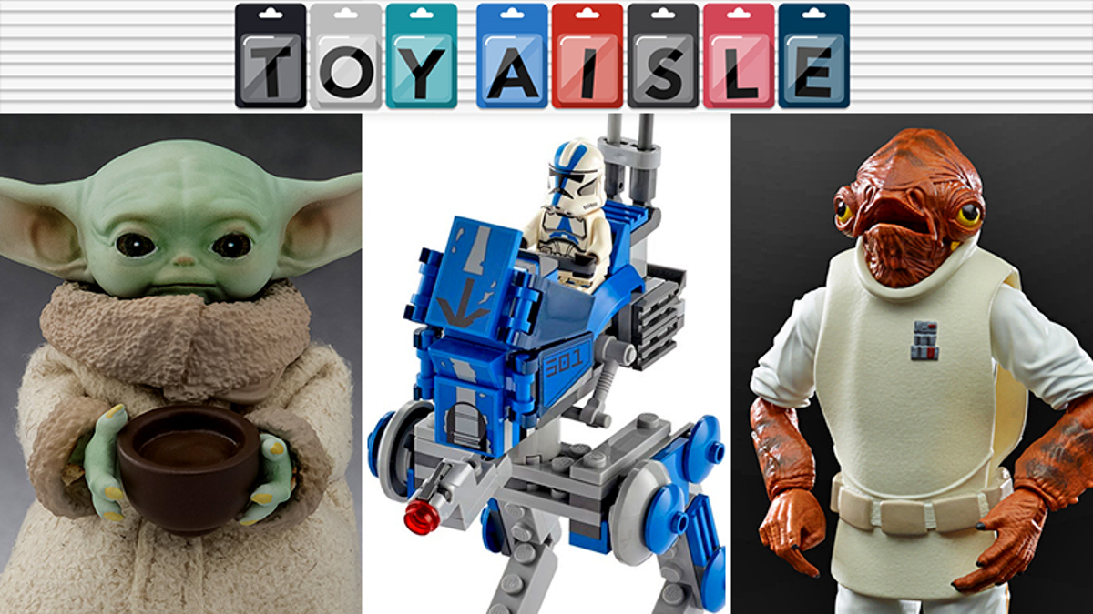 Star Wars Traps, Babies, and Vader's Fist Lead the Way in This Week's Toys