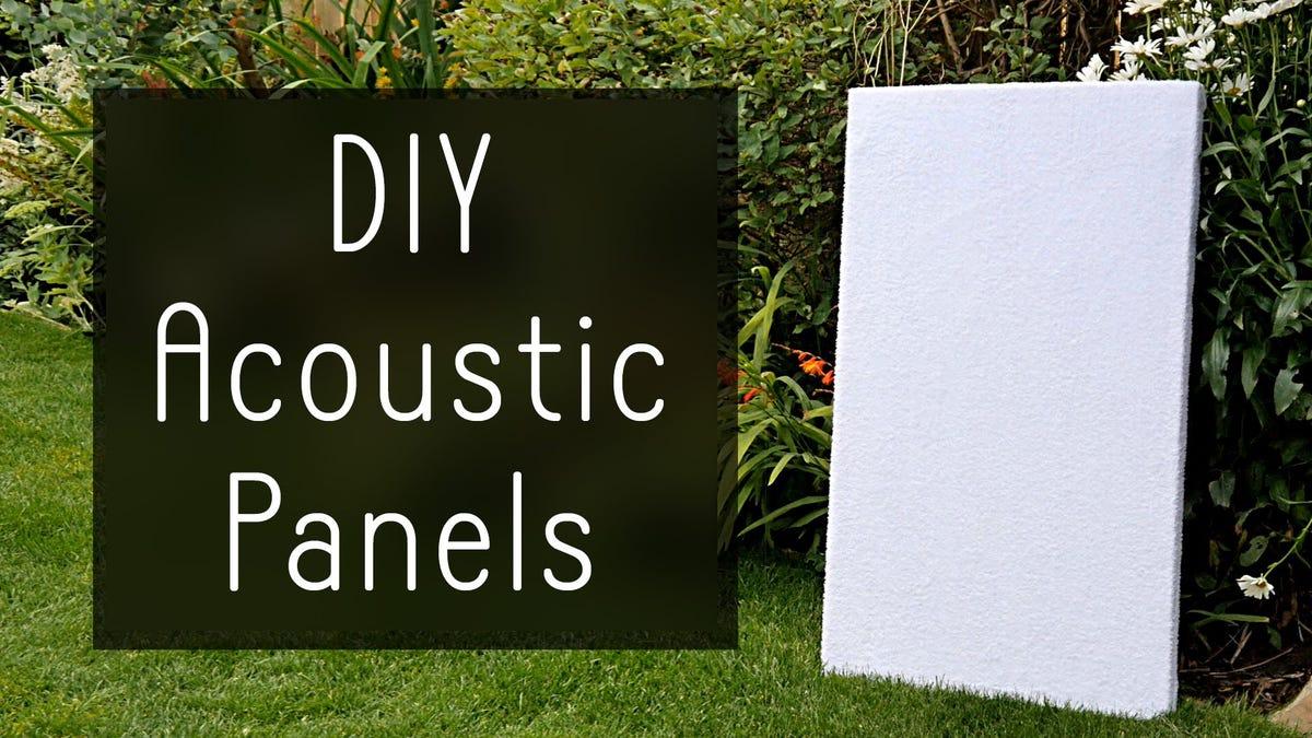 Cheap DIY Sound Absorption Panels