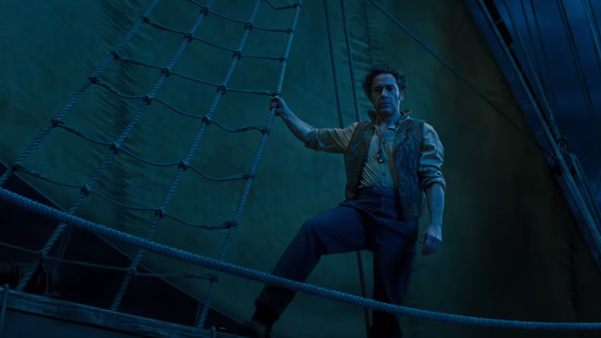 Watch the Trailer For Robert Downey, Jr.'s Next Big Role, Which For Some Reason is Doolittle