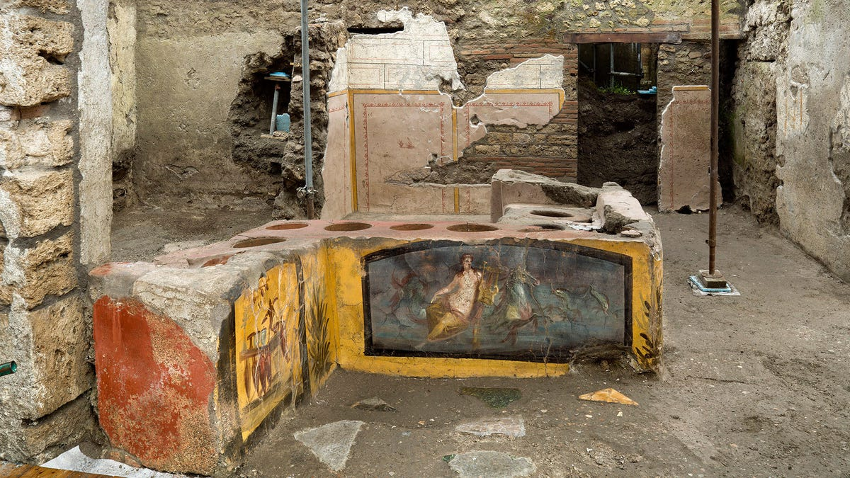 2,000-Year-Old Food Just Came Out of a Pompeii Snack Bar