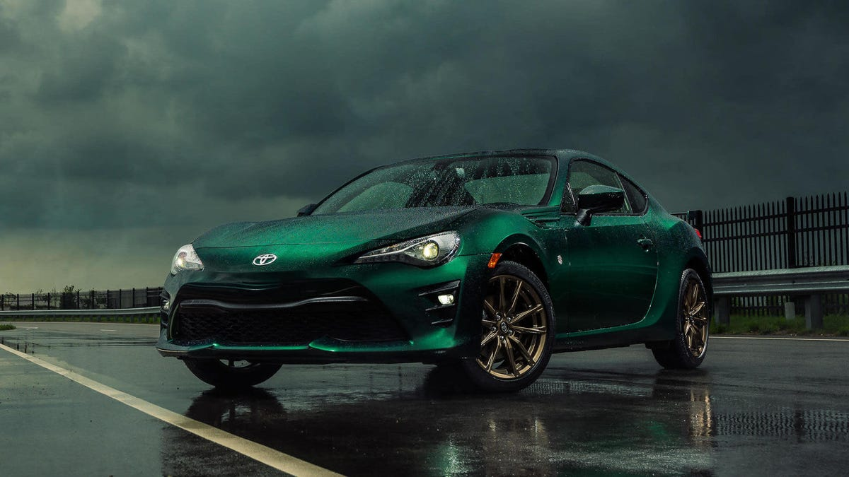 That Stunning British Racing Green Toyota 86 Limited Edition Is