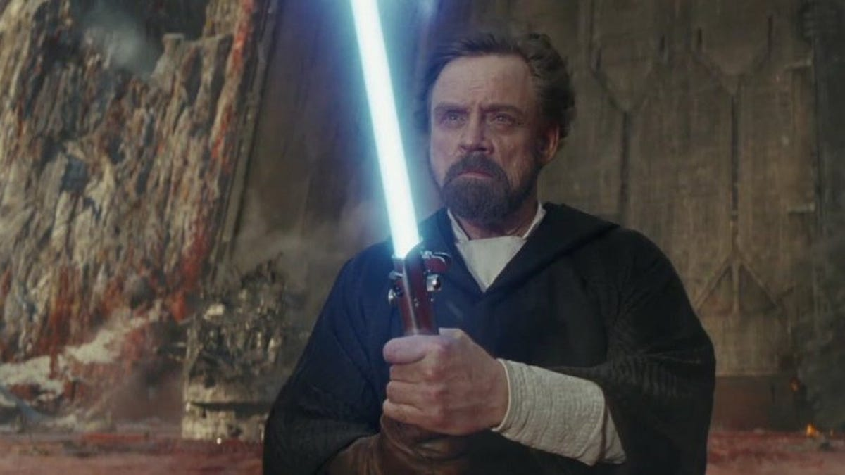 Resultado de imagen de luke skywalker episodio 9