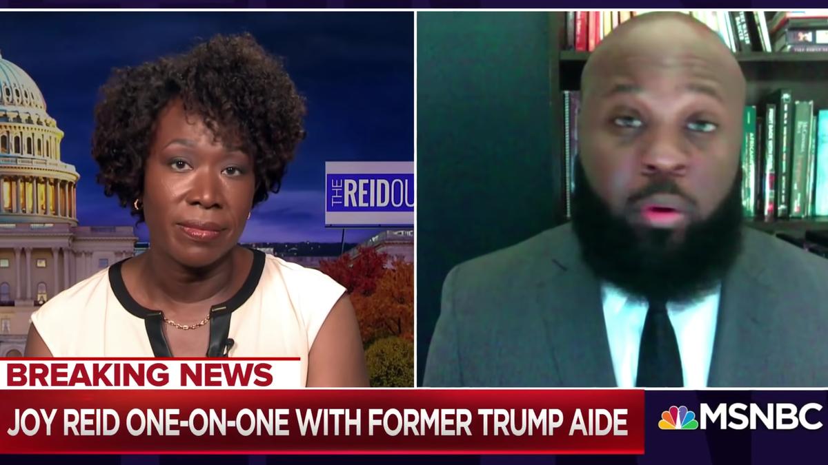 Joy and Pain: MSNBC Host Assaults Trump's Highest-Ranking Black Friend on Live TV
