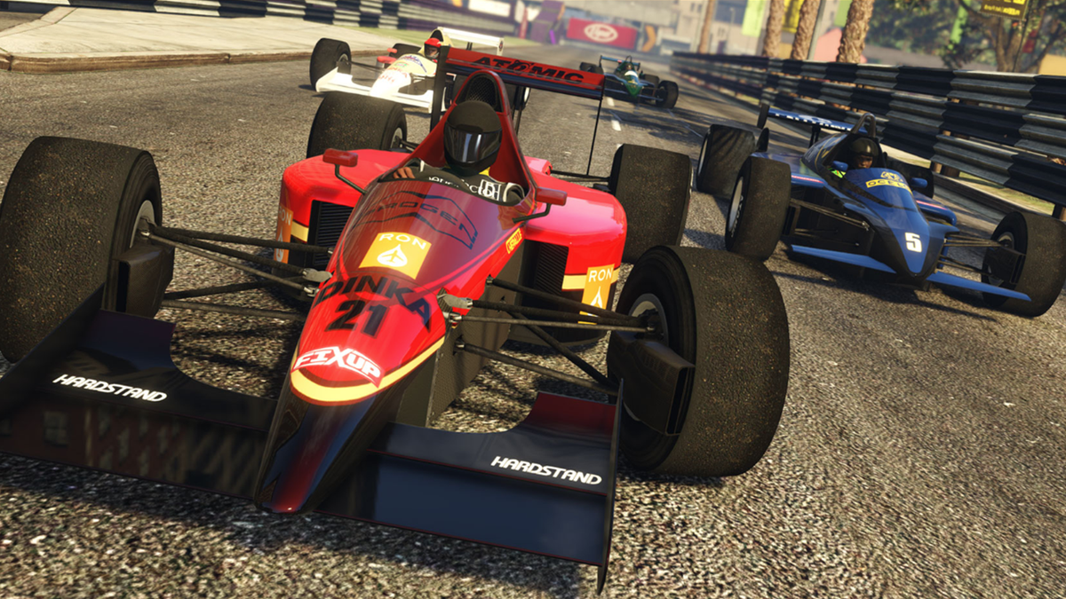 Gta Online S New Formula 1 Races Are Cool But Too Tough For Many Players