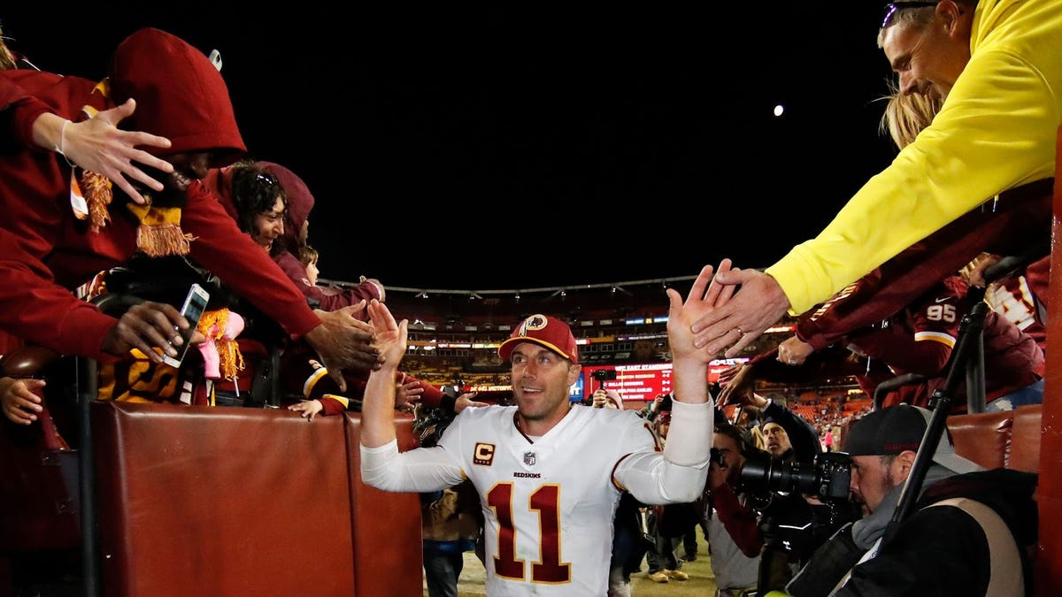Alex Smith completed the comeback