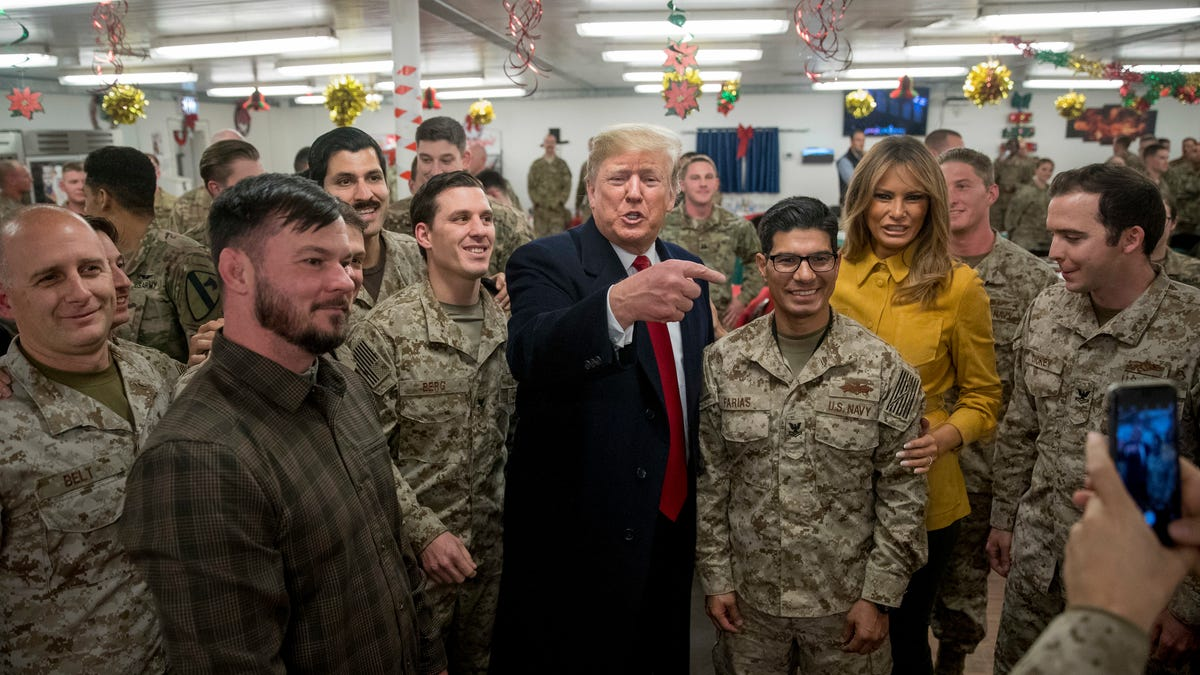 Trump Seems to Have Accidentally Revealed the Identities of a Covert Navy SEAL Team on Twitter