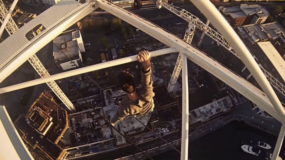 These first-person daredevil videos are great if you need a panic attack