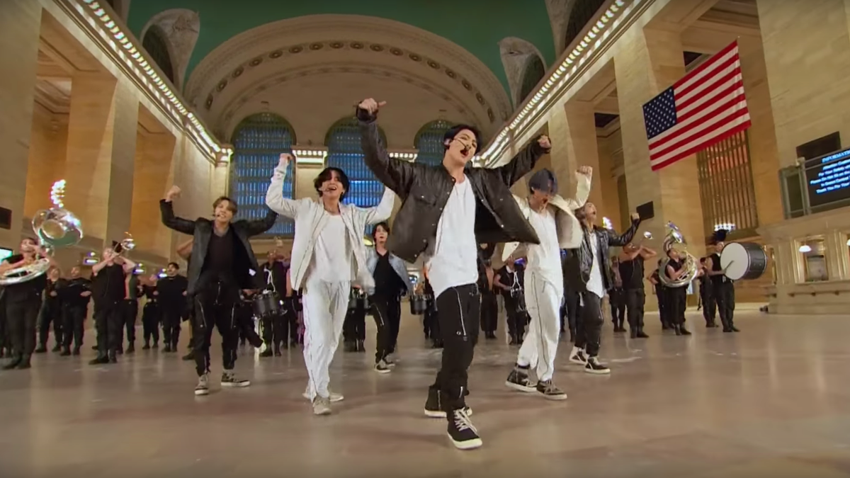 How the Hell Did BTS Perform in an Empty Grand Central Station?