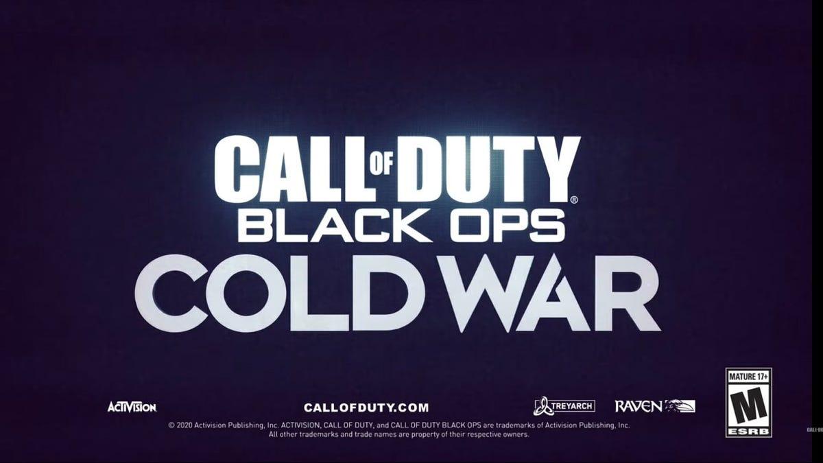 Black Ops: Cold War es el nuevo juego de la saga Call of Duty