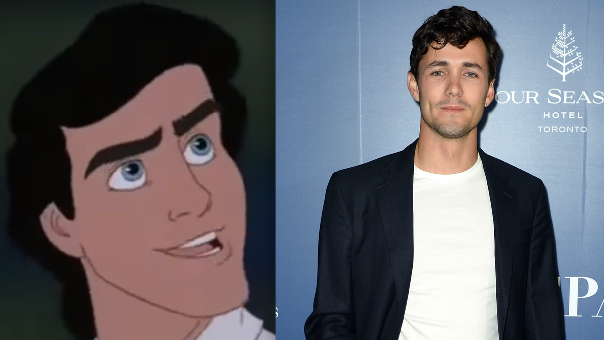 The Little Mermaid's New Prince Eric Is Not Harry Styles