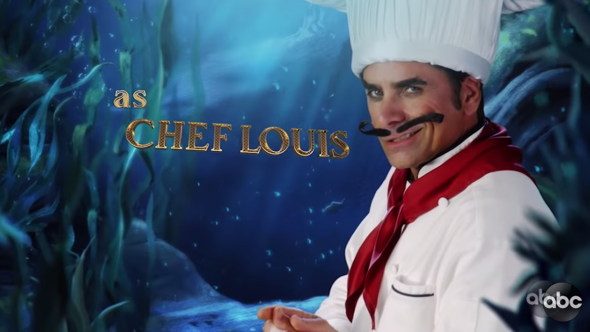Here Is John Stamos As a Murderous French Crab Chef