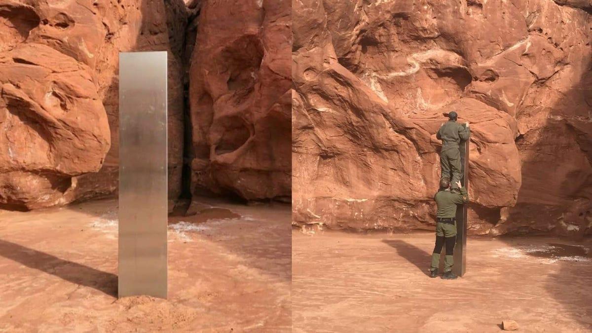 El misterioso monolito encontrado en el desierto de Utah lleva allí años