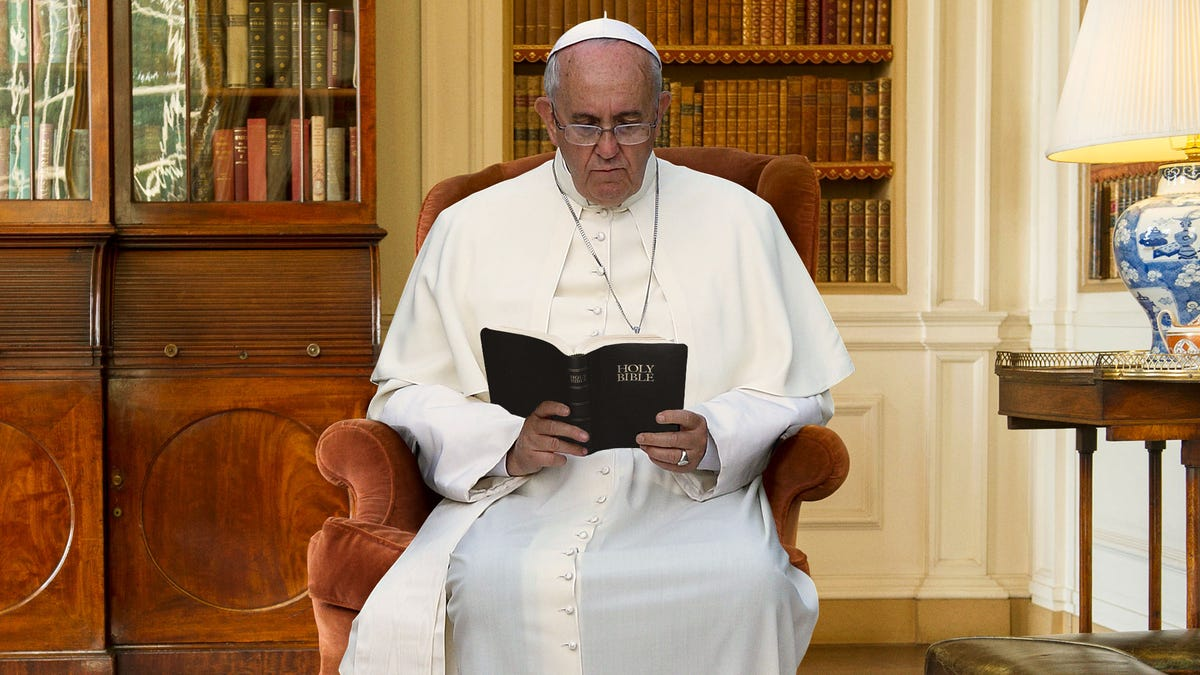 Pope Francis Finally Close To Finishing Bible