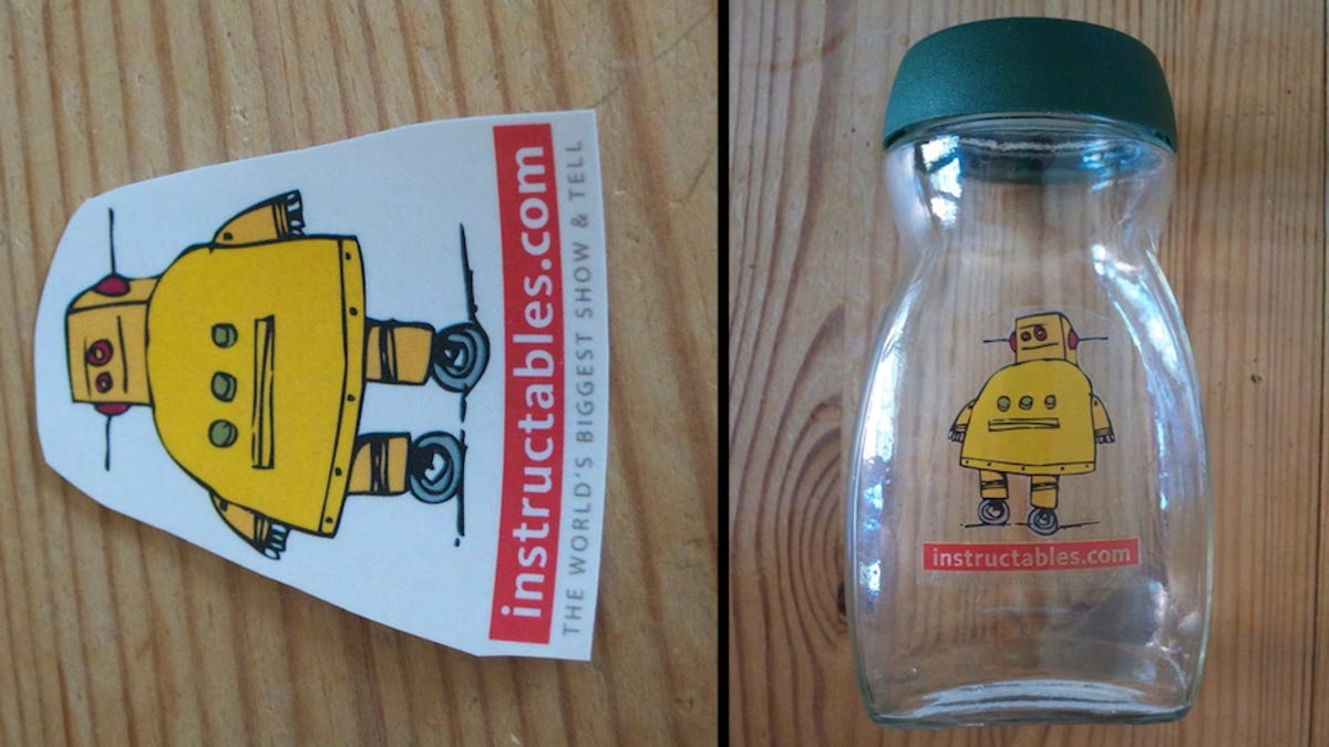Make Custom Clear Labels with Packing Tape