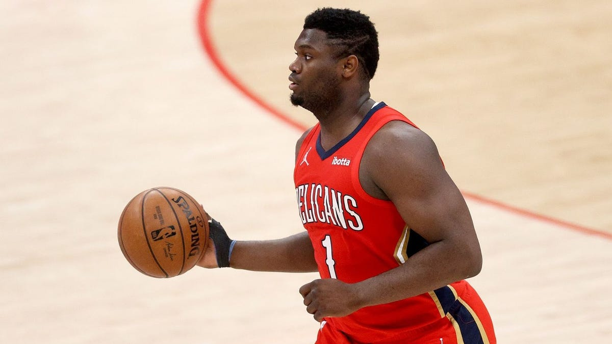 Zion Williamson continues to make NBA players look like they use Spongebob's weight room - deadspin