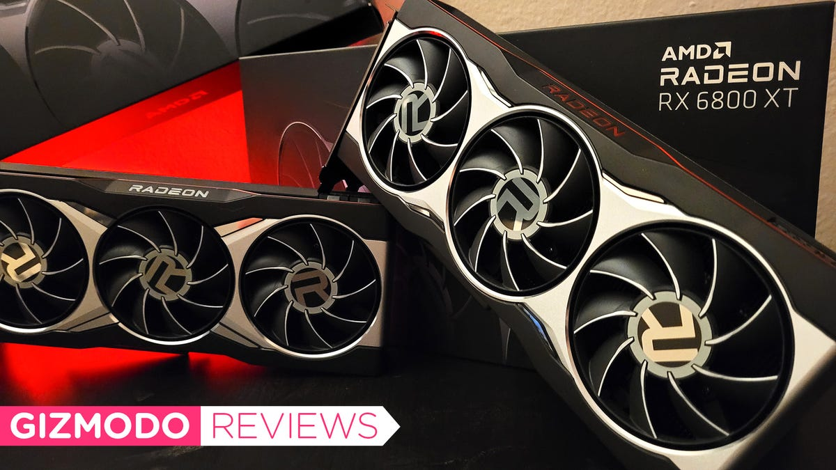 AMD RX 6800 XT and RX 6800 Review: AMD Finally Does Ray Tracing