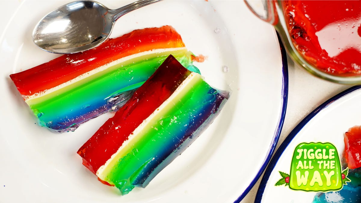 Rainbow Jell-O: Still jiggly after all these years?