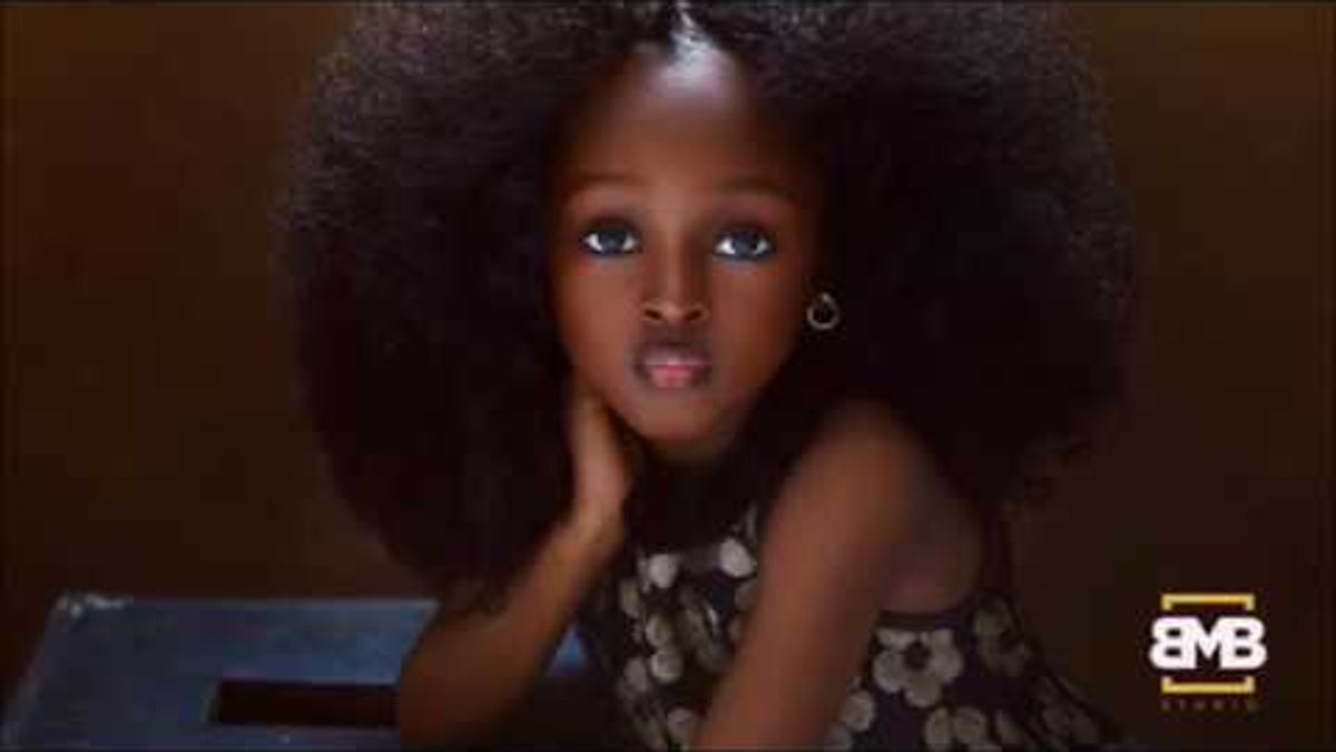 Could She Be the Most Beautiful Girl in the World? A 5-Year-Old Nigerian Girl Is Making Headlines