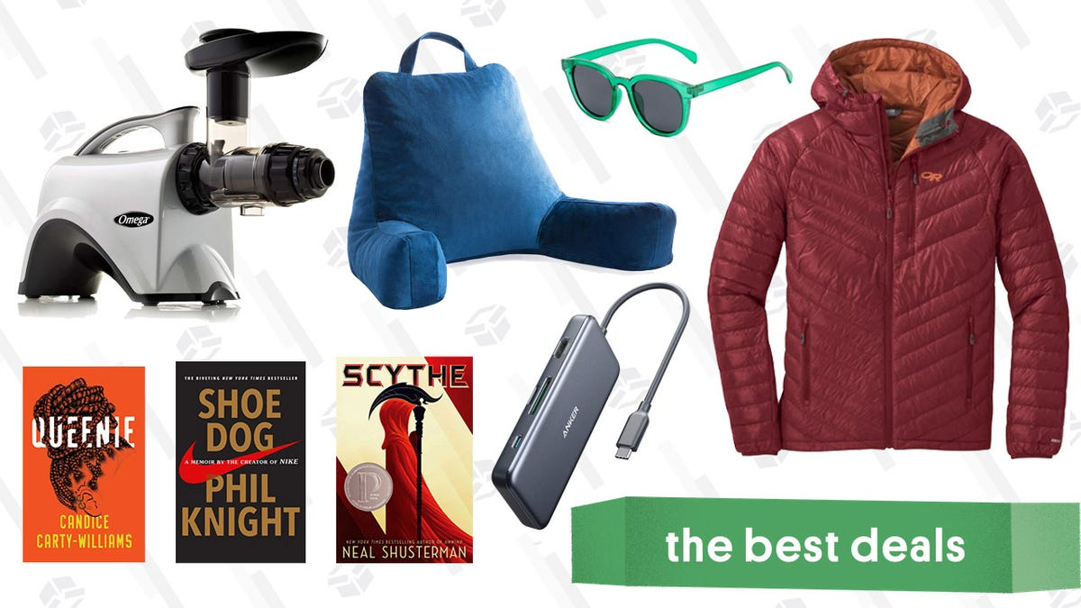 Sunday's Best Deals: REI Outlet, Weighted Blankets, Omega Juicer, and More