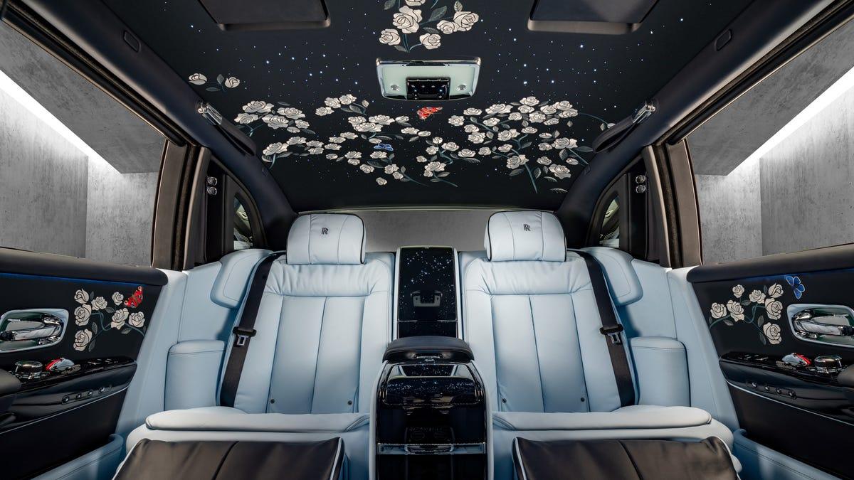 OK, This Million-Stitch Rolls-Royce Embroidered Interior Is Legitimately Beautiful