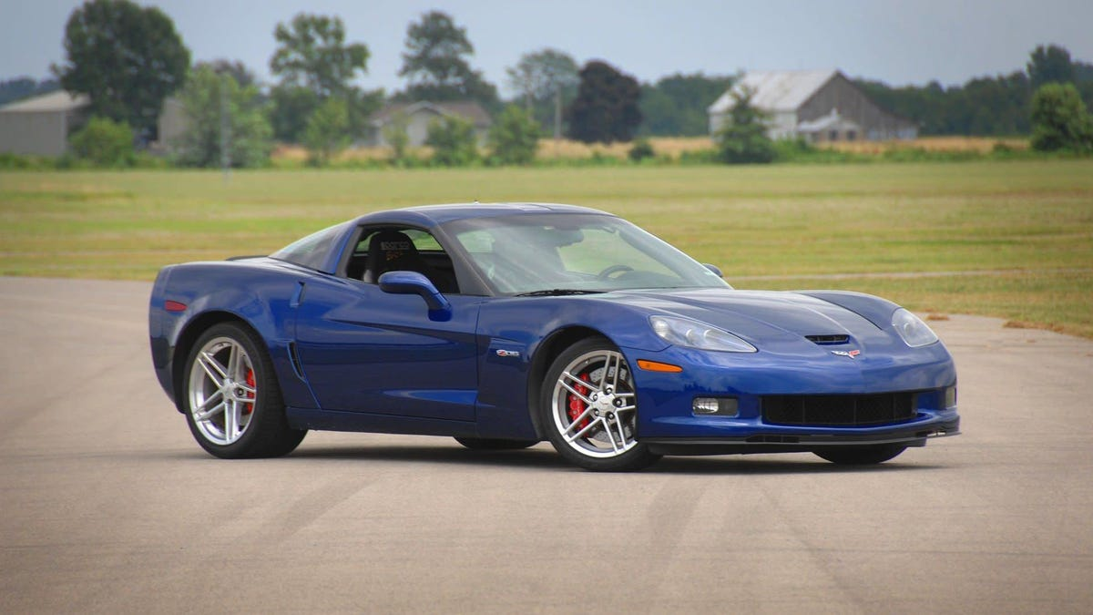 You Can Buy The First C6 Corvette Z06 For $79,000, But You Can't Take It On The Street