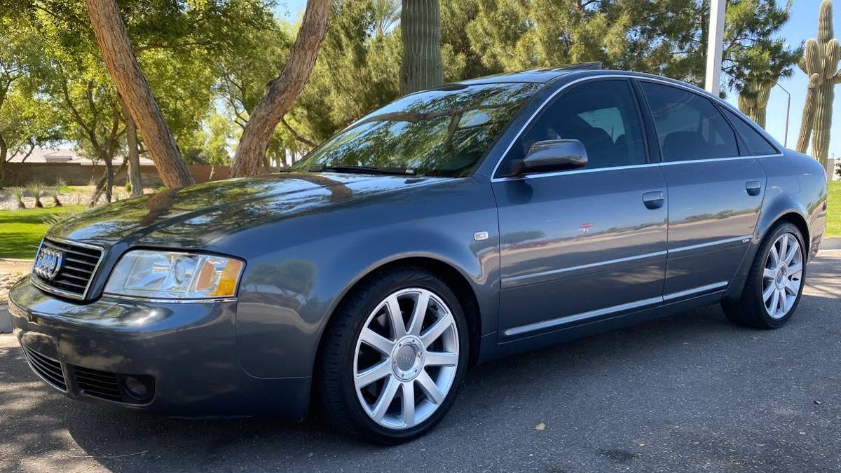 At $6,500, Is This 2004 Audi A6 2.7t Totally A-Okay?