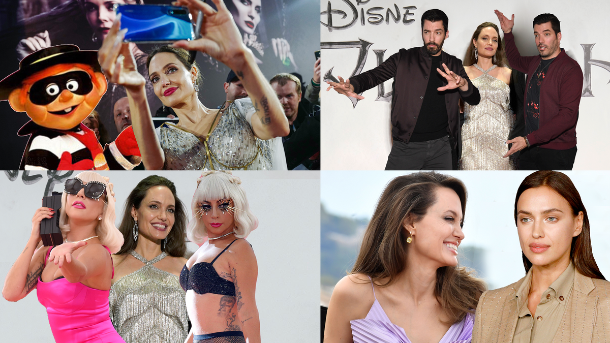 A List of People Angelina Jolie Should Date Next