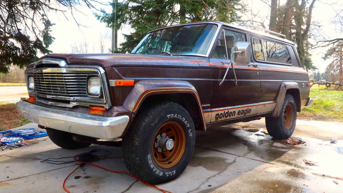 How I Finally Got My Glorious 1979 Jeep Cherokee Golden Eagle Back On The Road