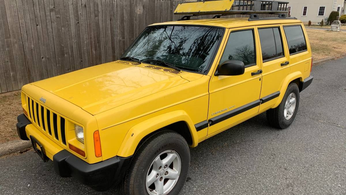 At $3,800, Will This RWD-Only 2001 Jeep Cherokee Sport Gain Traction?