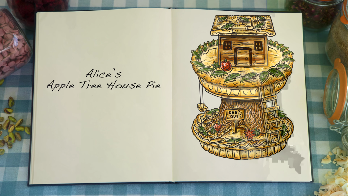 You can buy the illustrations from The Great British Baking Show and here is all our money