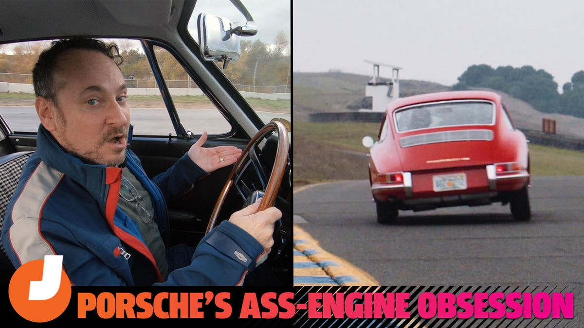Watch Me Spin Out A $4 Million Porsche And Talk About Rear Engine Cars