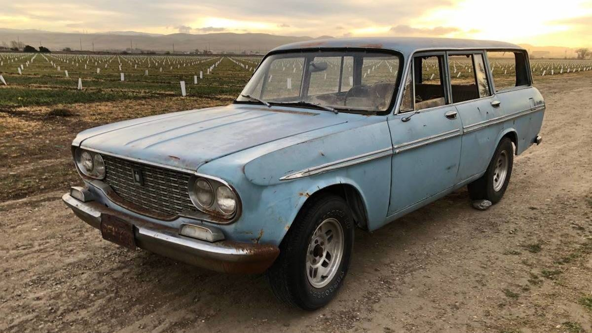 At $5,500, Could This 1966 Toyota Wagon Project Be Your Crowning Achievement?