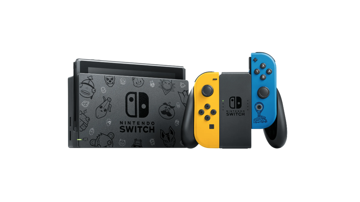 Nintendo Is Releasing a Fortnite Emblazoned Switch In Europe And Australia/NZ