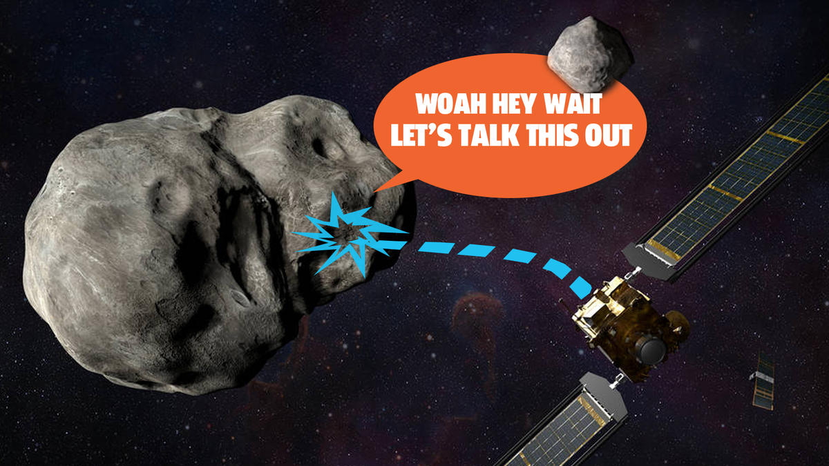 NASA Is Going To Crash A Probe Right Smack Dab Into An Asteroid For A Really Good Reason