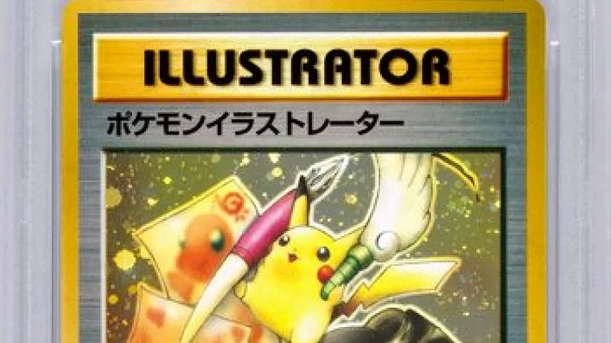 Esta carta de Pokémon es tan rara que acaba de subastarse por 195.000 dólares