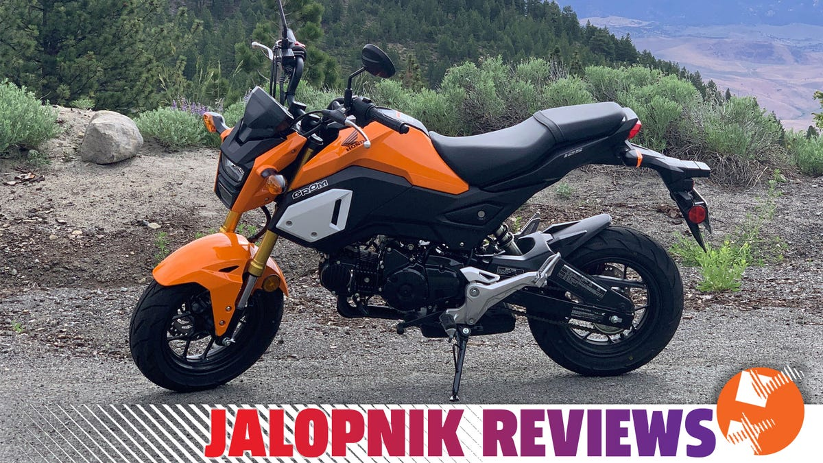 The 2020 Honda Grom: The Jalopnik Review
