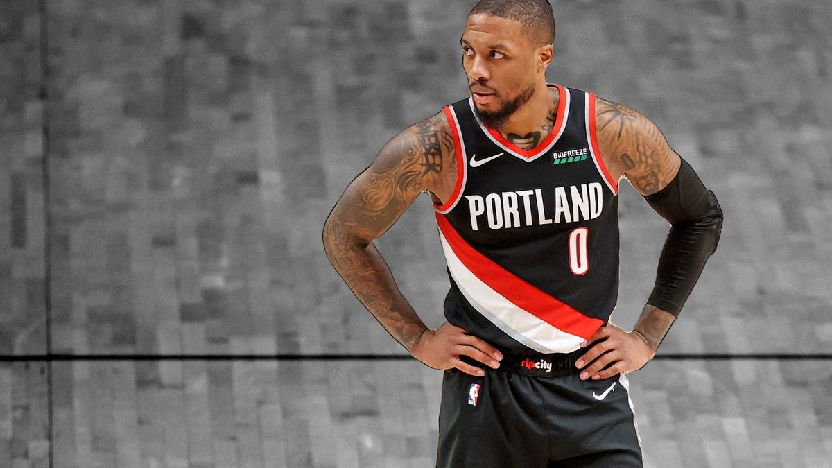 Damian Lillard for MVP? It's about Dame Time - deadspin