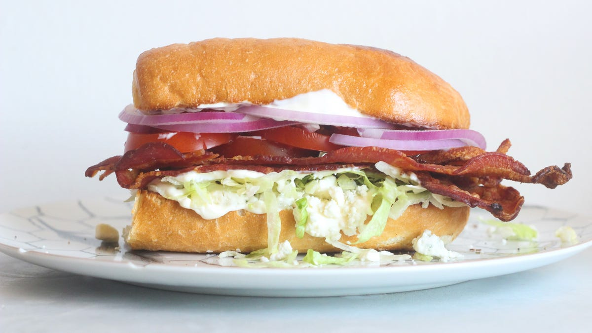 Turn Your Favorite Salad Into a Sandwich