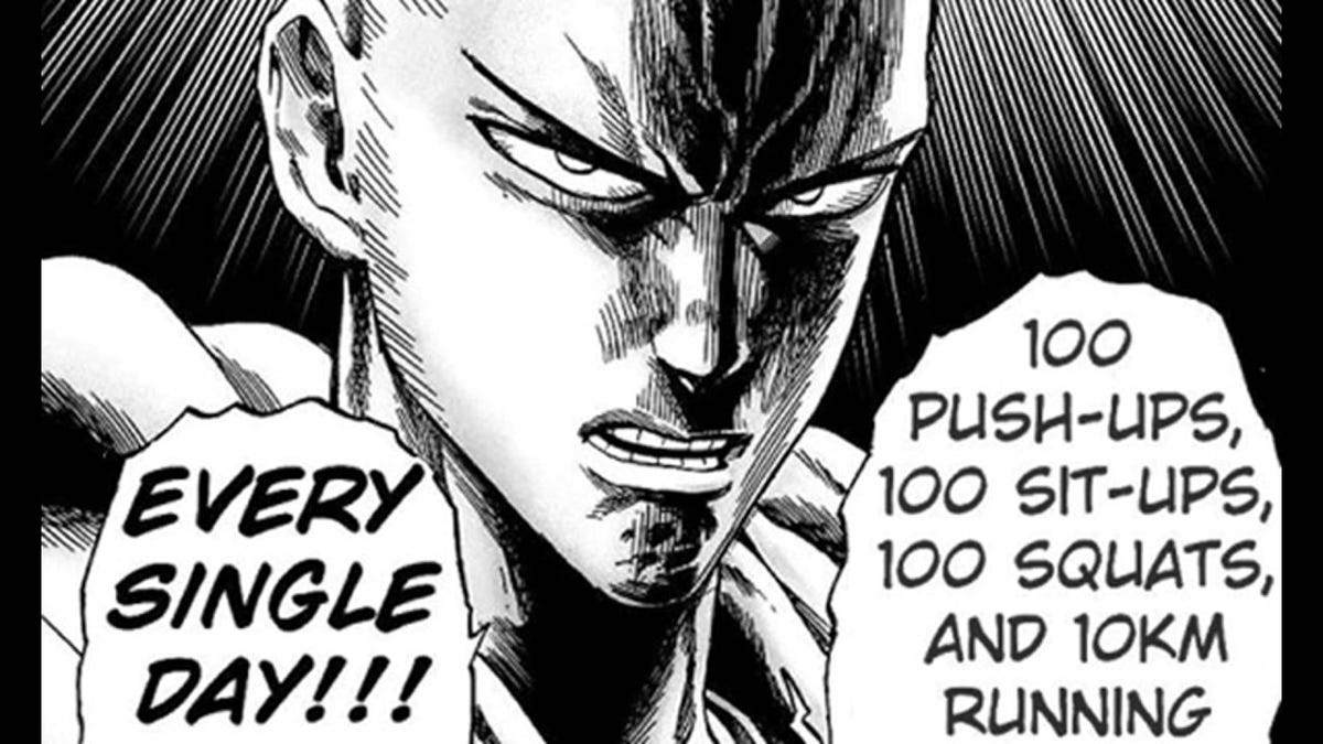 The One Punch Man Workout Explained And Analyzed