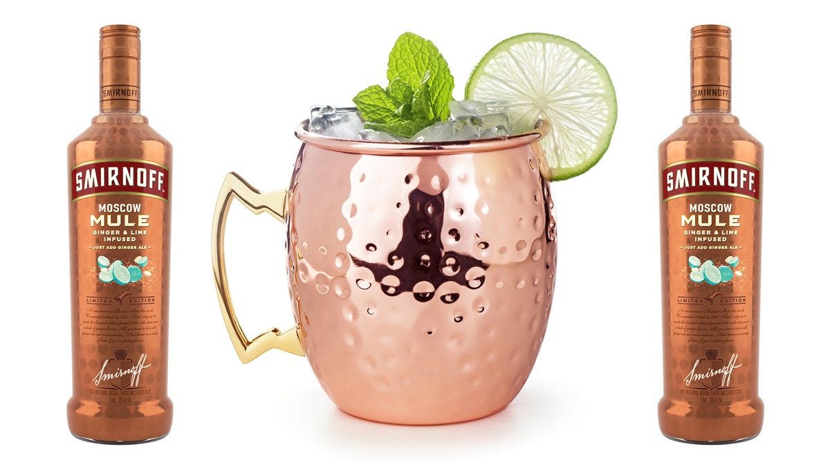 Moscow Mule Vodka Saves You