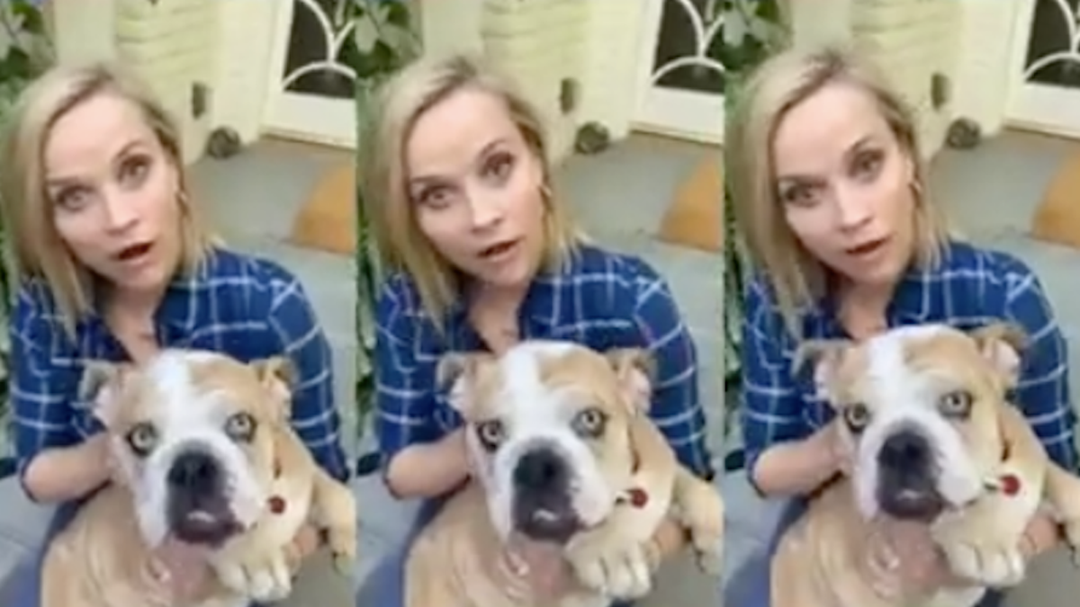 Reese Witherspoon exudes some cool aunt energy in her first TikTok