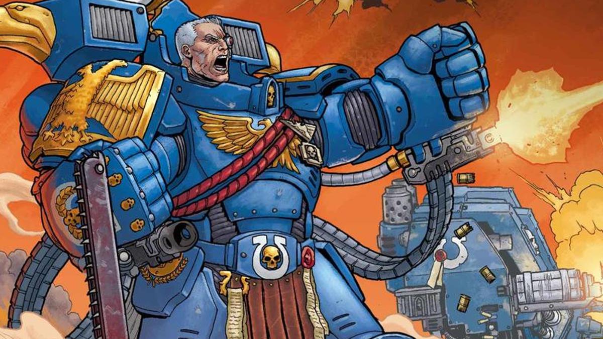 Marvel revela o primeiro Warhammer de 40.000 quadrinhos sobre Ultramarines 14