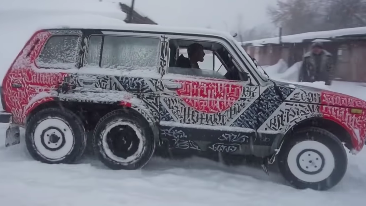 Watch How To Build A 6x6 Off Roader For Cheap