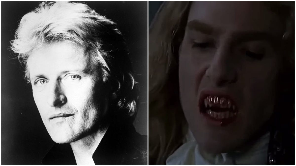 Let's envision a world in which a young Rutger Hauer played Anne Rice's Lestat