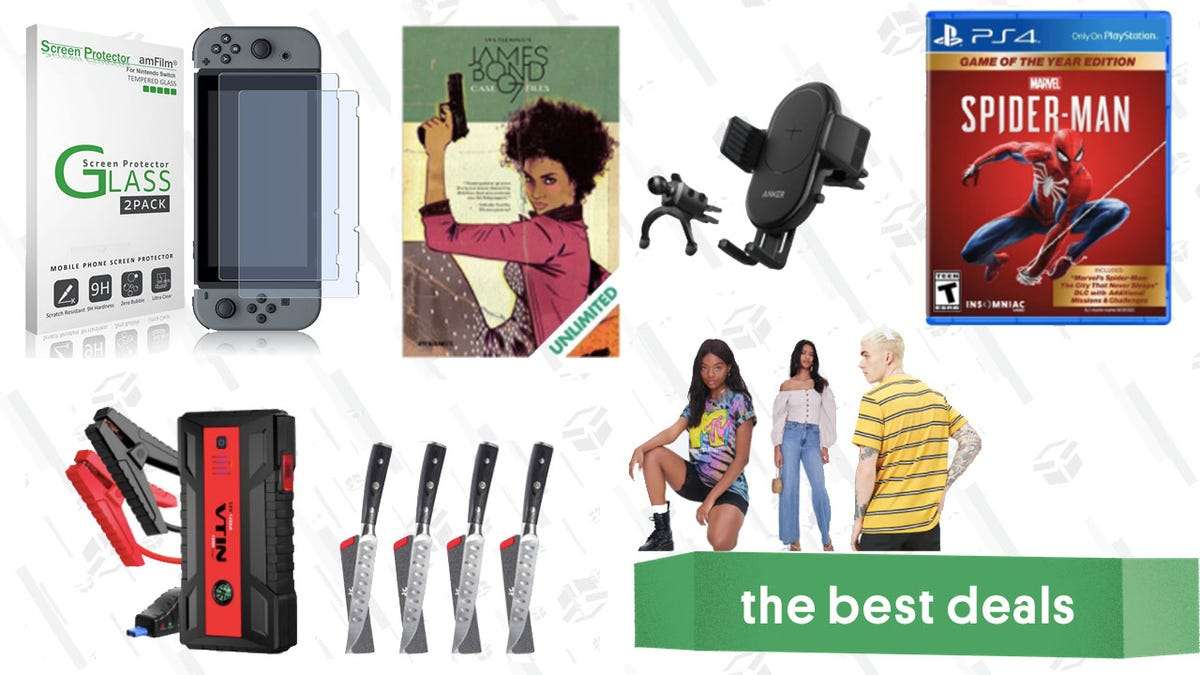 Thursday's Best Deals: Taotronics Headphones, Anker Wireless Car Charger, Spider-Man, Kyoku Steak Knives, and More