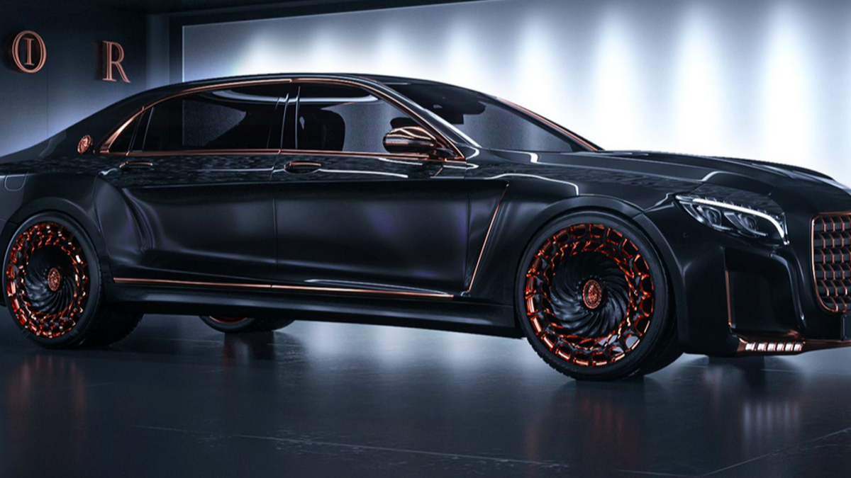 This Is The Most Obnoxious Luxury Car Ever