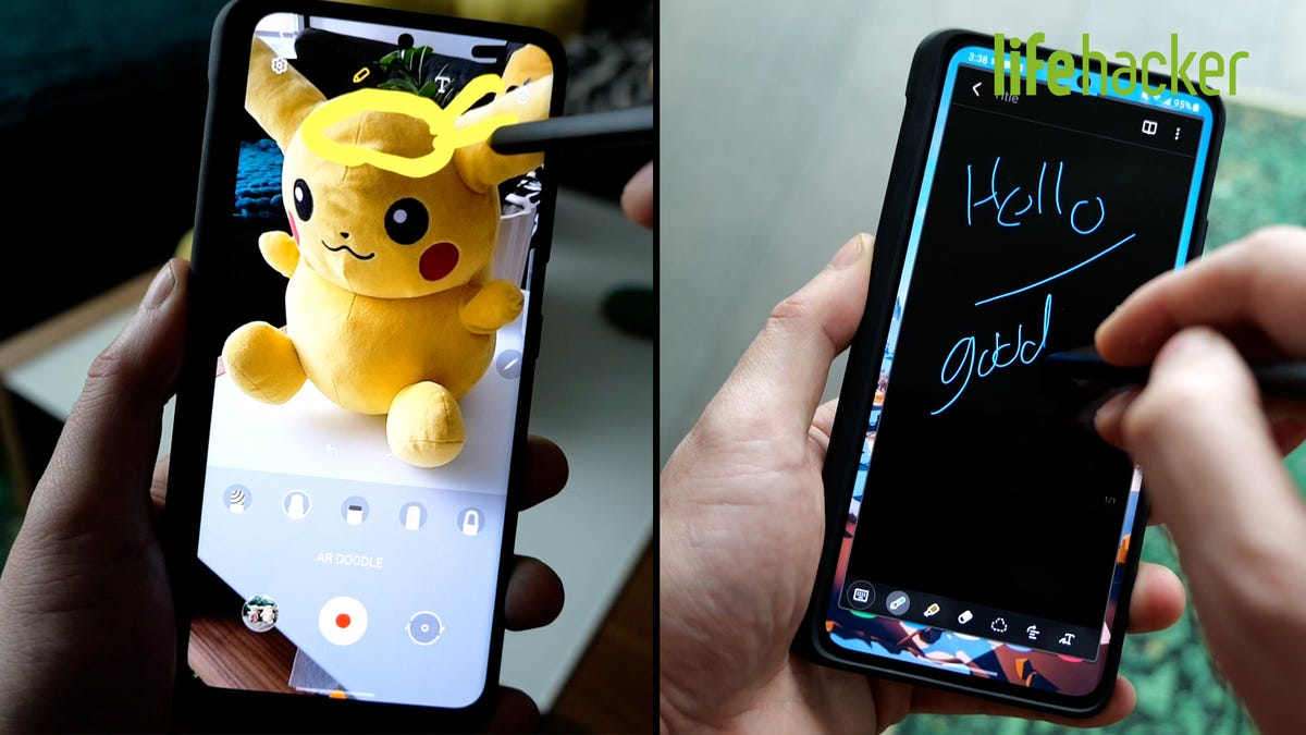 How to Use the S-Pen With a Samsung Galaxy S21 Ultra
