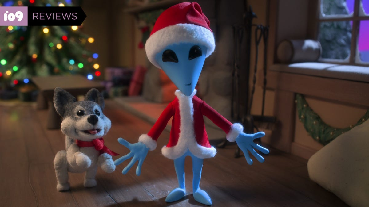 Netflix's Adorable Alien Xmas Is Basically The Grinch From Outer Space